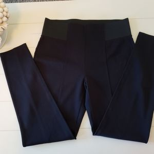 Maurice's high rise detailed stretch pants
